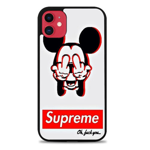 Custodia Cover iphone 11 pro max Mickey Mouse Dope Supreme X9230 Case - Cover custodia iphone/samsung/huawei shuj.it