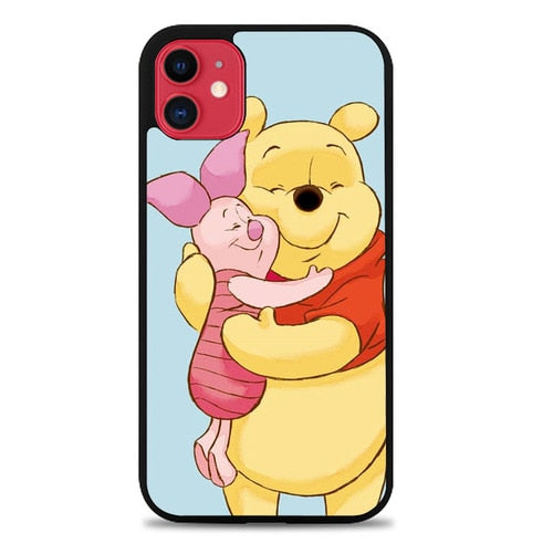 Custodia Cover iphone 11 pro max Winnie The Pooh And Piglet L0086 Case