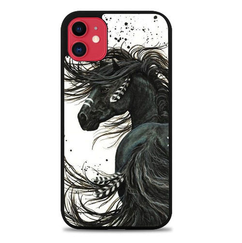 Custodia Cover iphone 11 pro max Horse Majestic Mustang Horse L1250 Case