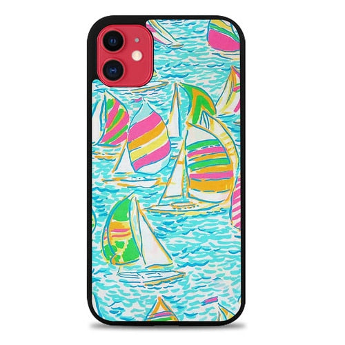 Custodia Cover iphone 11 pro max Lilly Pulitzer Sailboat L1919 Case - Cover custodia iphone/samsung/huawei shuj.it