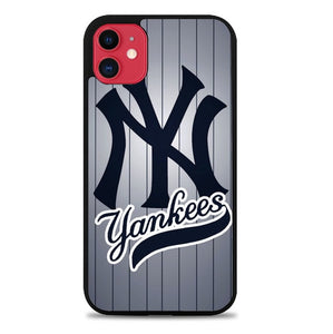 Custodia Cover iphone 11 pro max New York Yankees L2433 Case