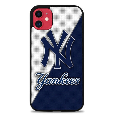 Custodia Cover iphone 11 pro max New York Yankees Logo L3091 Case