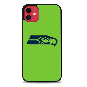 Custodia Cover iphone 11 pro max Seattle Seahawks Logo L3194 Case