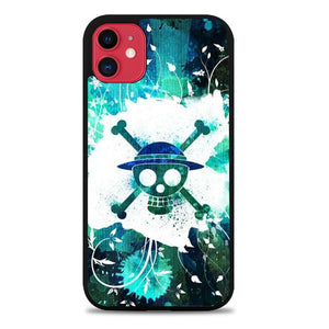 Custodia Cover iphone 11 pro max One Piece Skull Logo L3250 Case