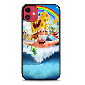 Custodia Cover iphone 11 pro max Spongebob Movie L3265 Case