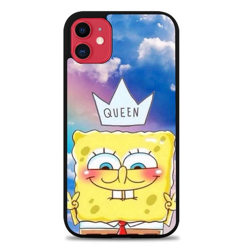 Custodia Cover iphone 11 pro max Spongebob Tumblr L3267 Case