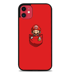 Custodia Cover iphone 11 pro max Cute Mario L3363 Case