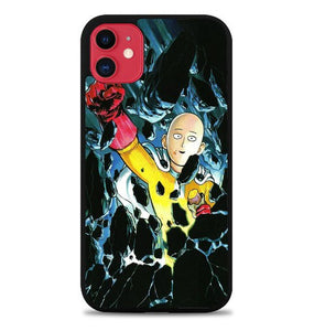 Custodia Cover iphone 11 pro max One Punch Man Punch A Stone L3402 Case