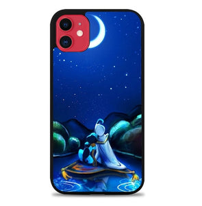 Custodia Cover iphone 11 pro max Aladdin Jasmine L3411 Case