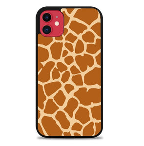 Custodia Cover iphone 11 pro max Girafe Pattern L3439 Case