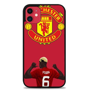 Custodia Cover iphone 11 pro max Paul Pogba Mufc L3446 Case