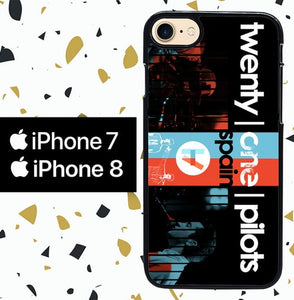 Custodia Cover iphone 7 8 TWENTY ONE PILOTS Y0089 Case