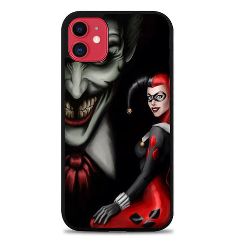 Custodia Cover iphone 11 pro max JOKER QUINN Y0570 Case
