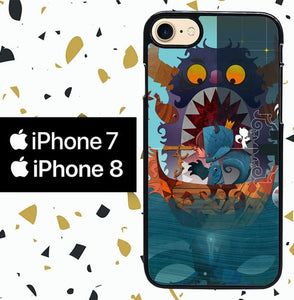 Custodia Cover iphone 7 8 Where the Wild Things Are cartoon WALLPAPER Y0608 Case