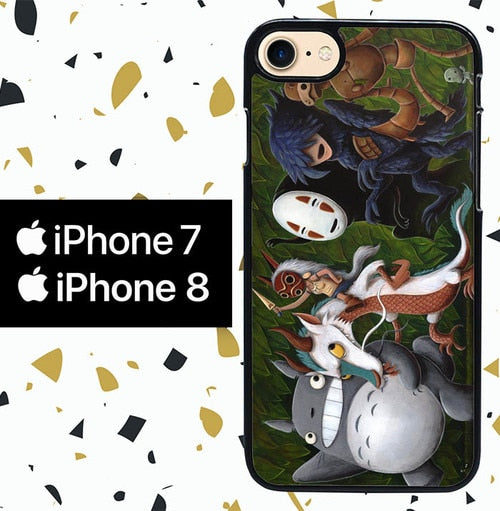 Custodia Cover iphone 7 8 Where studio ghibli the Wild Things Are Y0611 Case