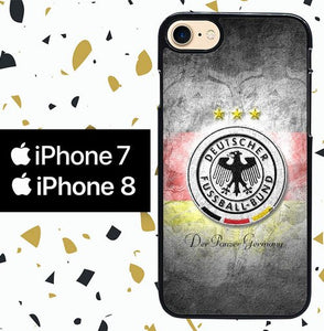 Custodia Cover iphone 7 8 DEUTSCHER FUSSBALL BUND W0017 Case