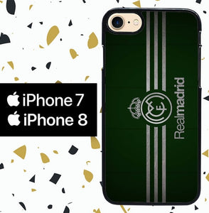 Custodia Cover iphone 7 8 real madrid W0055 Case