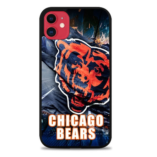 Custodia Cover iphone 11 pro max Chicago Bears W3007 Case