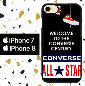 Custodia Cover iphone 7 8 Converse W3052 Case