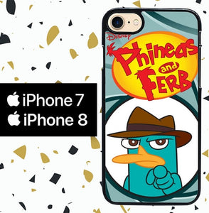 Custodia Cover iphone 7 8 perry platypus W3175 Case