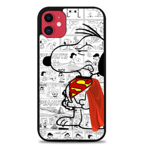 Custodia Cover iphone 11 pro max Snoopy W3587 Case