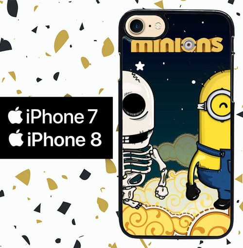 Custodia Cover iphone 7 8 MINION W4027 Case