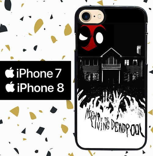 Custodia Cover iphone 7 8 DEADPOOL W4039 Case