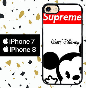 Custodia Cover iphone 7 8 SUPREME W4821 Case