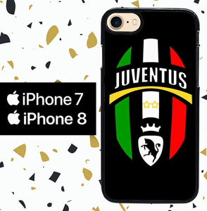 Custodia Cover iphone 7 8 juventus W4983 Case