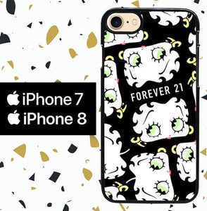 Custodia Cover iphone 7 8 forever 21 LOGO W4982 Case