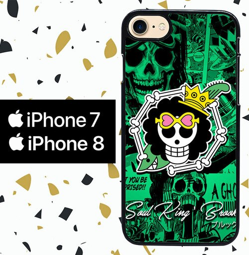 Custodia Cover iphone 7 8 soul king brook W5122 Case