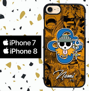 Custodia Cover iphone 7 8 NAMI ONE PIECE W5125 Case