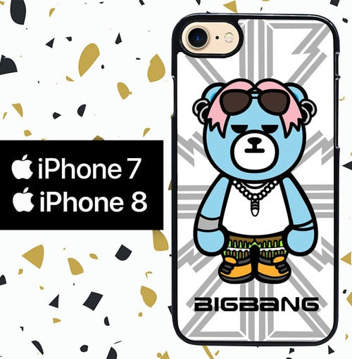 Custodia Cover iphone 7 8 KPOP BIGBANG PANDA W5201 Case