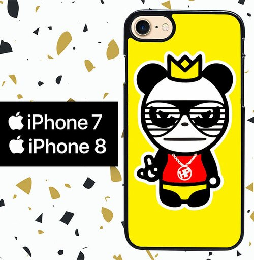 Custodia Cover iphone 7 8 pop mart pop panda W5241 Case