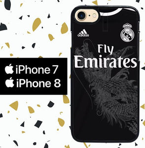 Custodia Cover iphone 7 8 madrid road jersey W5300 Case