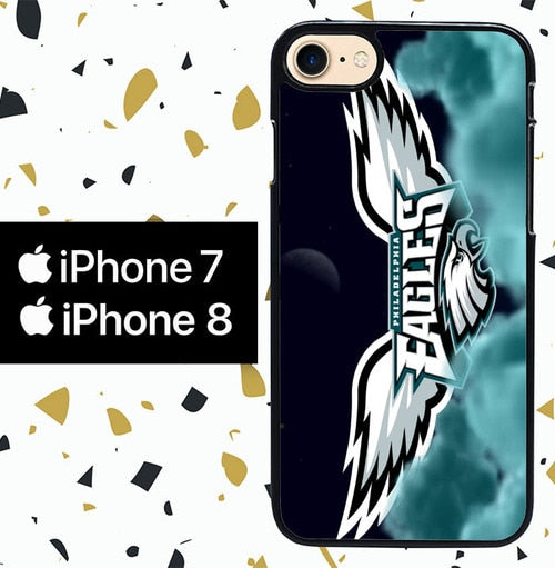 Custodia Cover iphone 7 8 EAGLES NFL W5368 Case