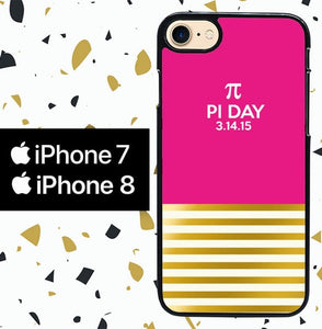 Custodia Cover iphone 7 8 pi day of the century W5421 Case