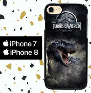 Custodia Cover iphone 7 8 jurassic world fallen kingdom W5701 Case