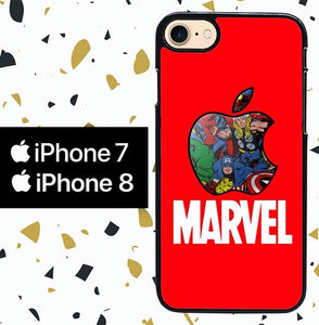 Custodia Cover iphone 7 8 Marvel iPhone W5771 Case