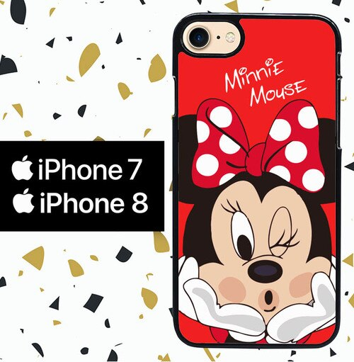 Custodia Cover iphone 7 8 MINI MOUSE W7005 Case