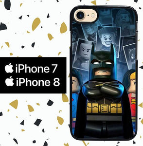Custodia Cover iphone 7 8 LEGO W7013 Case