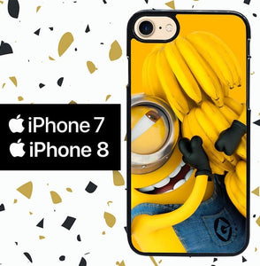 Custodia Cover iphone 7 8 despicable me W8589 Case