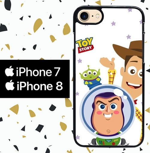 Custodia Cover iphone 7 8 toy story W8862 Case