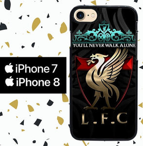 Custodia Cover iphone 7 8 liverpool W8963 Case