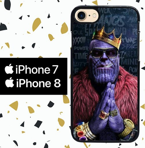 Custodia Cover iphone 7 8 thanos W8981 Case