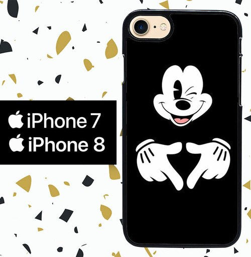 Custodia Cover iphone 7 8 mickey mouse W9008 Case
