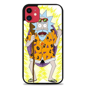 Custodia Cover iphone 11 pro max Rick and Morty W9130 Case