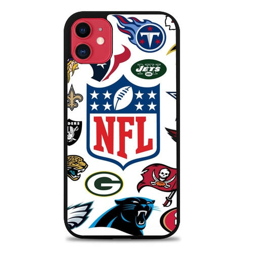 Custodia Cover iphone 11 pro max NFL W9156 Case