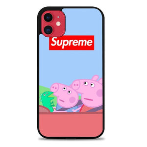 Custodia Cover iphone 11 pro max Peppa Pig SUPREME W9168 Case