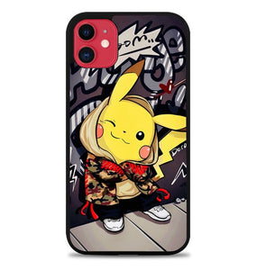 Custodia Cover iphone 11 pro max pikachu W9604 Case